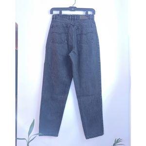 Vintage Gloria Vanderbilt Faded Black Mom Jeans